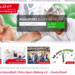 rehasport alle infos im berblick reha sport bildung e v. Black Bedroom Furniture Sets. Home Design Ideas